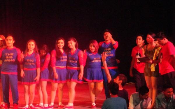 Jóvenes de San Cristóbal en concurso de baile. Foto: Amalia Avendaño