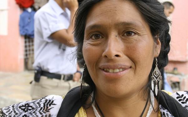 Felipa, artesana de Aguacatenango Chiapas. Ángeles Mariscal:Chiapas PARALELO