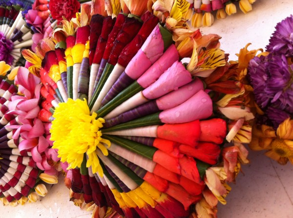 Foto: Los ramilletes son arreglos florales hechos por el pueblo zoque de la región centro de Chiapas.  Foto: Sandra de los Santos/ Chiapas PARALELO.