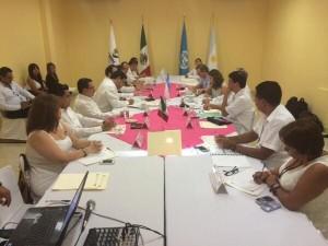 La reunión con funcionarios del CEDH