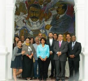 Red Iberoamericana de Jueces durante reunión en San Cristóbal de las Casas. Foto: Cortesía