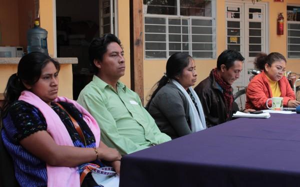 Desplazados del ejido Puebla en Chenalhó, no han podido retornar por la violencia que se vive en la comunidad. Foto: Frayba