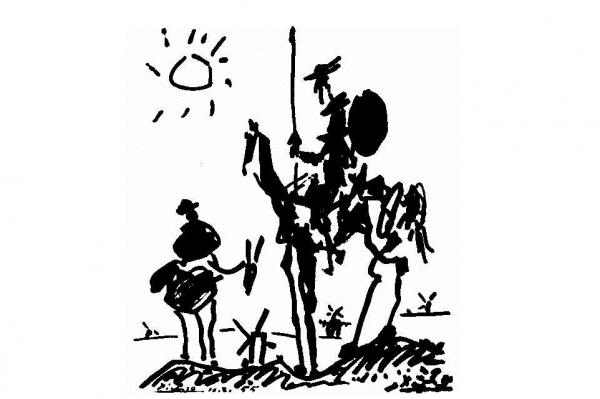 El 23 de abril se celebra el día mundial del libro. Ese día nació Miguel Cervantes de Saavedra.