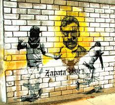 Grafiti sobre Zapata
