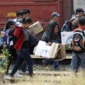 migrantes mujeres llegando a Ixtepec