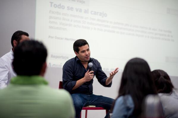 Oscar Martínez. Foto @Migrahack