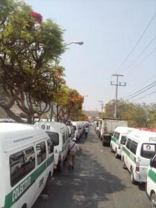 Paran transportistas de carga y pasaje en Chiapas