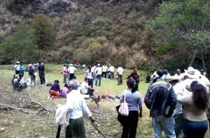 La Reserva Ecológica Gertrude Duby que pertenece a todo el pueblo de San Cristóbal, dijeron.