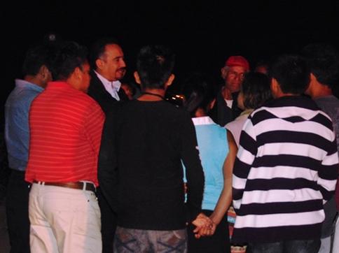 """Incorporará al programa """"Vecino Vigilante"""" a las guardias ciudadanas. Foto: Radio Expresión"""