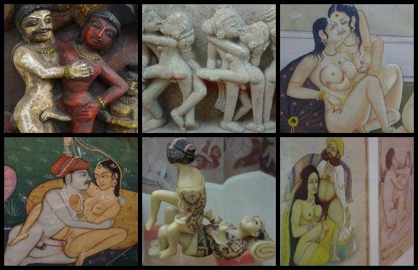 El erotismo expresado en el arte.