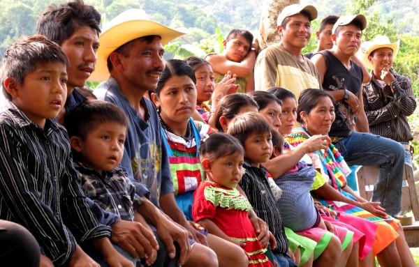 Habitantes del poblado Ranchería Corozal, habitan en la selva desde hace tres generaciones. Foto: Ángeles Mariscal
