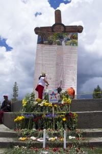 Justicia para Galeano. Foto: Elizabeth Ruiz