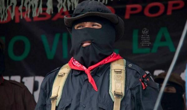 El Subcomandante Insurgente Moisés. Foto: Medios Libres Alternativos/Koman Ilel