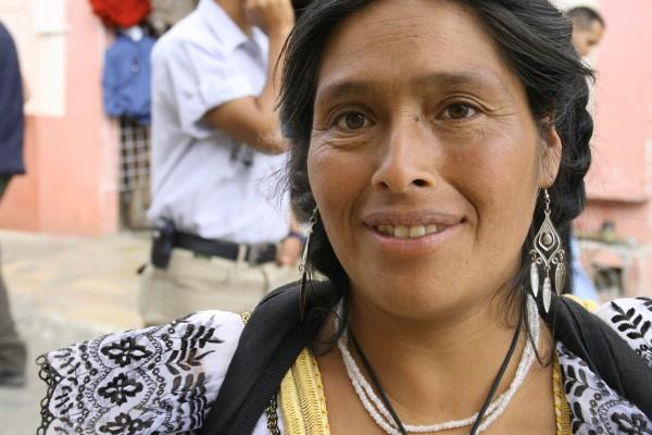 La belleza de Felipa, artesana de Aguacatenango Chiapas. Foto: Ángeles Mariscal/Chiapas PARALELO