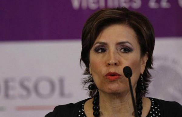 Rosario Robles, secretaria de Desarrollo Social. Foto: Conexión Total