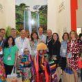 Uvence Rojas en la clausura del evento, en Cancún, Quintana roo