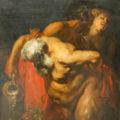 Sileno ebrio, del pintor Antonio Van Dyck