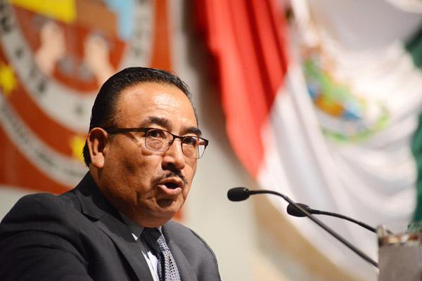 El diputado local del PRI, Amando Demetrio Bohórquez Reyes. Fuente: Pagina3.mx