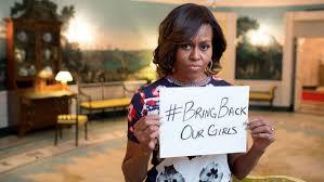 #bringbackourgirls, campaña del gobierno de Estados Unidos