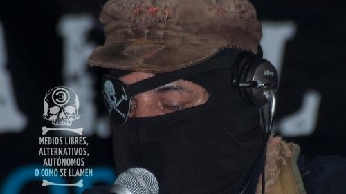 Desaparece el Sub Marcos y nace el Subcomandante Insurgente Galeano. Foto: Medios Alternativos