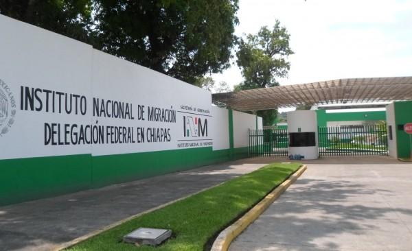 La Estación Migratoria Siglo XXI en Tapachula. Foto: Rubén Zúñiga.