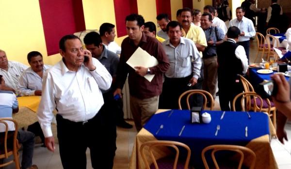 Jesús Zambrano, líder nacional del PRD. Foto: Isaín Mandujano/Chiapas PARALELO
