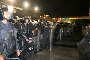 Reforzar a los cuerpos policuacos en vez de reforzar los derechos humanos.