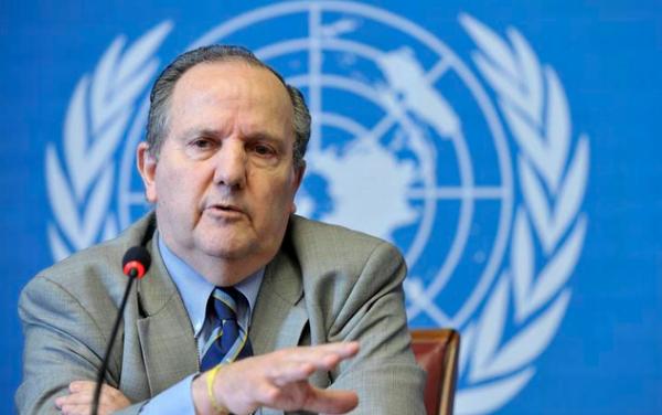 El Relator Especial de Naciones Unidas sobre la tortura y otros tratos crueles, inhumanos o degradantes, Juan E. Méndez.