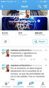 La actriz y conductora de Televisa, Mariana Echeverría se refirió así a la tragedía del crucero.