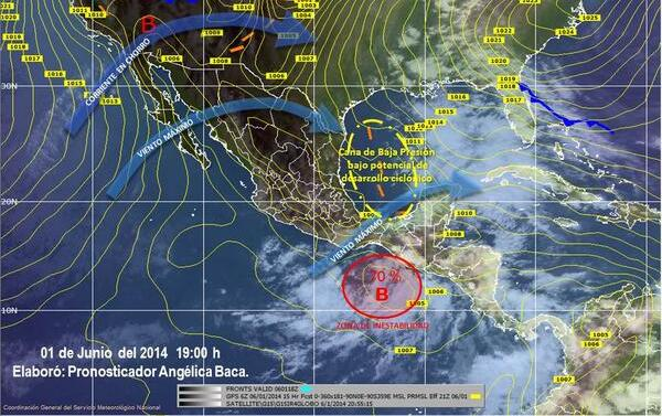 El día martes podría ser el día más lluvioso y con fuertes rachas de vientos, informan meteorólogos.