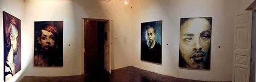 Exposición de Rodolfo Baeza en Caleidoscopio. Foto: Cortesía Caleidoscopio.