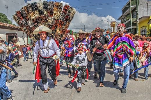 Los personajes del Calalá. Foto: Elizabeth Ruiz