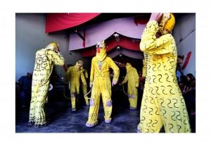 "De la serie ""danza del tigre"" Suchiapa, Chiapas.  Foto: Jacob García"