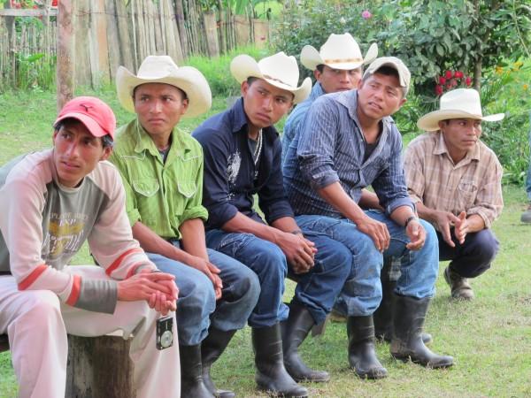 Campesinos Chiapas son propietarios de tierras ricas en recursos naturales. Foto: Ángeles Mariscal/Chiapas PARALELO