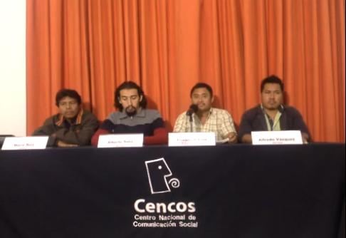 Conferencia de representante de la comunidad Zona Lacandona, ARIC-I y SIPAZ