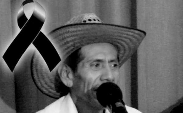 Antonio Esteban Cruz, líder campesino y opositor a la industria extractiva. Foto: Radio Expresión