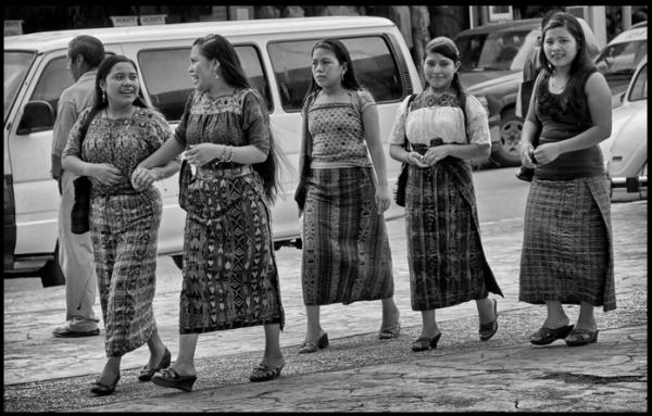 Migrantes originarias de Guatemala