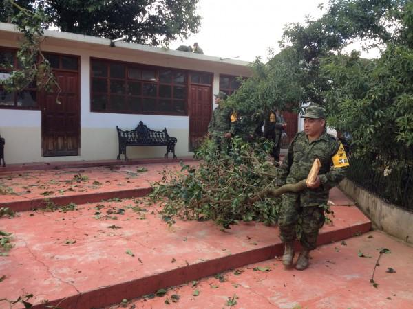 Ejército Mexicano aplicó Plan DN-III en San Cristóbal de las Casas. Foto: Emiliano Hernández