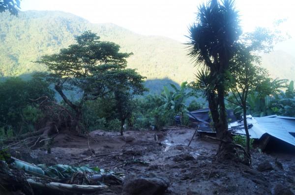 Enclavado en la sierra, la población de Amatenango vive en zonas de alto riesgo. Foto: Benjamin Alfaro