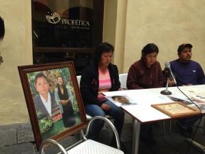 Feminicidio en Puebla. Foto: Cortesía