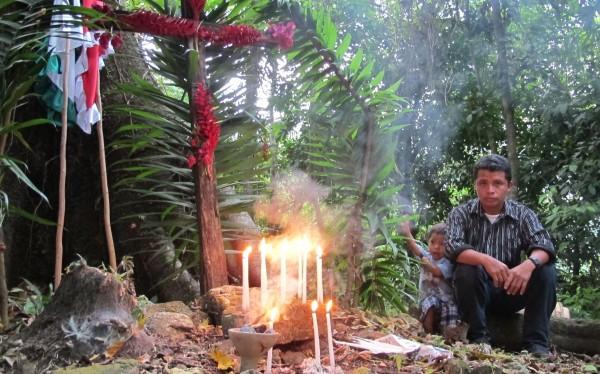 Habitantes de Nuevo San Gregorio, en Montes Azules, Chiapas. Foto: Ángeles Mariscal/Chiapas PARALELO