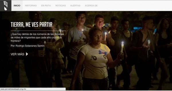 Le llamamos En el Camino no sólo por el tema central que le inspira, sino como una forma de recordar una de las primeras iniciativas para abordar el fenómeno con la visión del buen periodismo, El Faro de El Salvador.