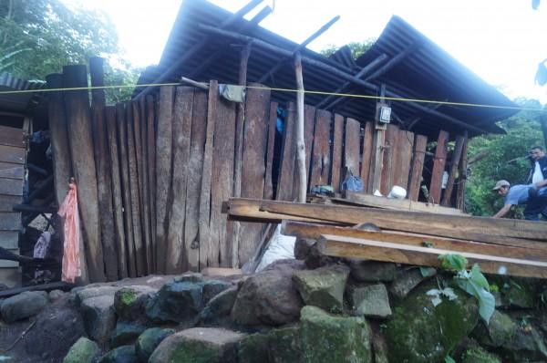 Población afectada por deslizamiento en Amatenango vive en extrema pobreza. Foto: Benjamin Alfaro
