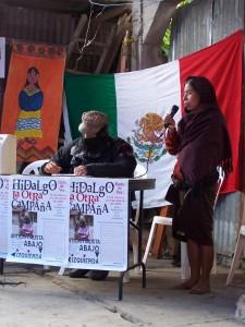 Subcomandante Marcos en La Otra Campaña Huayacocotla, Veracruz (2006)