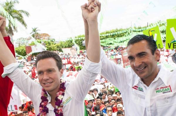 Manuel Velasco y Luis Armando Melgar. Foto: Archivo