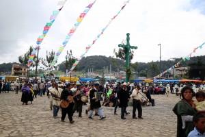 Día de San Juan en Chamula. Foto: Elizabeth Ruiz