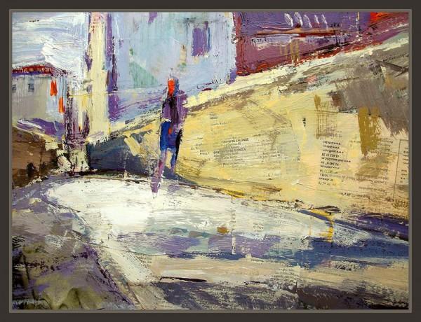 No solo estaban las calles de su ciudad natal sino las de espacios foráneos, aquellas a las que había regresado en un segundo viaje y al recorrer iba recordando las experiencias y a la vez sumando nuevas, pero también las que, probablemente, no volvería a caminar.