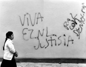 Leyenda a favor del EZLN. Foto: Red de Medios Libres