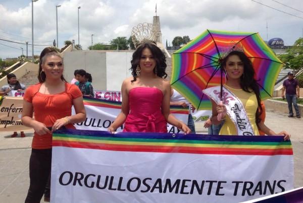El sábado 28 en la !a Marcha del Orgullo Gay realizado en Tuxtla Gutiérrez, Chiaas. Fotos: Isaín Mandujano.