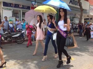 Transexuales en la  Primera Marcha del Orgullo Gay realizado en Tuxtla Gutiérrez, Chiaas. Fotos: Isaín Mandujano.